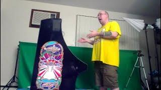 Arcade 1up Galaga Cabinet Review [Fake]