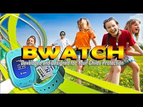 GPS Child Tracking Watch