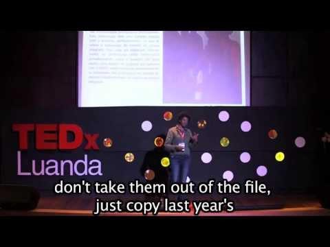 Sonia Ferreira TEDx Luanda talk (English Subtitles)
