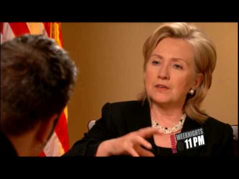 U.S. Secretary of State Hillary Clinton on Women's Issues