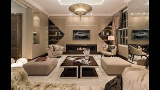 ULTIMATE LONDON LUXURY HOME - designed by 1.61 London & showcasing Roberto Cavalli Home Interiors
