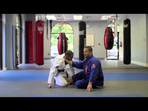 Brazilian Jiu-Jitsu Techniques - Cross Choke From Butterfly Guard - Annapolis BJJ Image 1