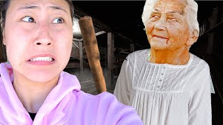 GRANNY ESCAPE CHALLENGE IN REAL LIFE!!