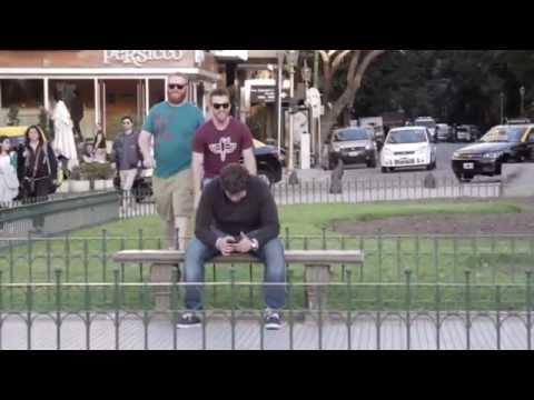 Bailando Detras De La Gente En Buenos Aires - Dustin Luke y Nihill
