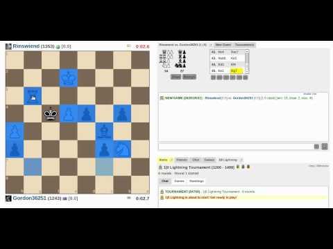 Extended Chess Marathon: Blitz and 1 Minute Tournament