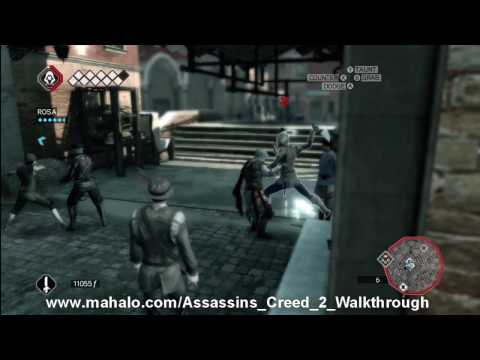 Assassin's Creed 2 Walkthrough - Mission 41: That's Gonna Leave A Mark Part 1 HD