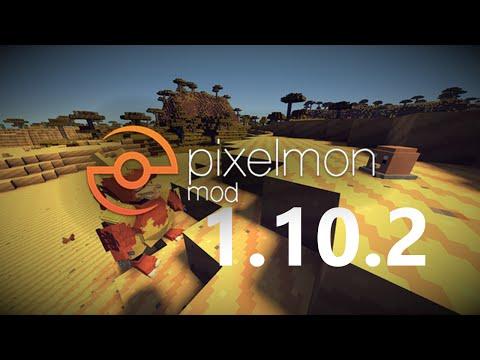Minecraft - How to install pixelmon mod 1.10.2 (ver: 5.0.0)