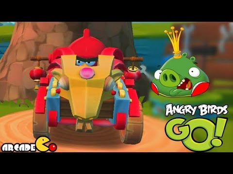 Angry Birds Go! the Year of the Goat with Crazy New Goat Kart