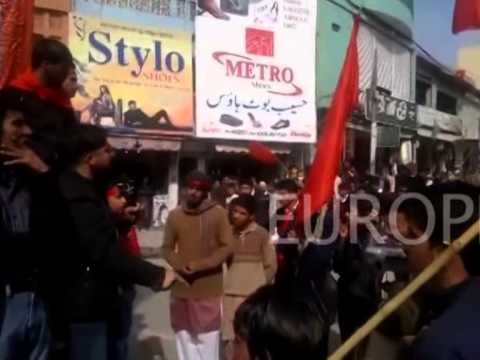 Youth In Azad Kashmir Protest Against Oppression And Exploitation By Pakistan video