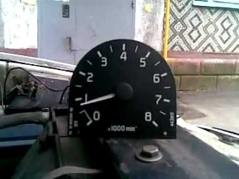 Тахометр ГАЗ 3110,работа
