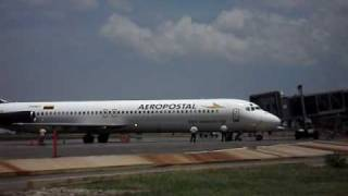 Parking Gate 01 SVPR Aeropostal DC9