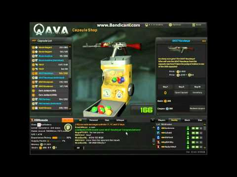 A.V.A AK47 Hawkeye Capsule Win! (HDV 1080i)