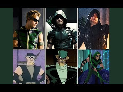 Green Arrow - Evolution in TV & Films