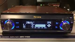 Going through the settings and functions on my Pioneer DEH-P800PRS with audio samples.