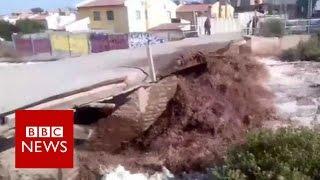 Chile Mudslides Cut Off Water To Millions BBC News VideoMp4Mp3.Com