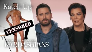 "Kris Jenner and Scott Disick Try Sketching A Nude Model: ""KUWTK"" Katch-Up (S16, Ep5)"