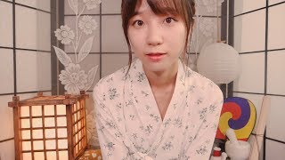 Traditional Korean Makeup on You💝/ ASMR Tingly Makeup Artist