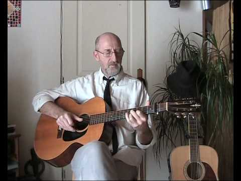 www.Play-Blues-Guitar.eu - Blues Before Sunrise - Scrapper Blackwell (Cover)