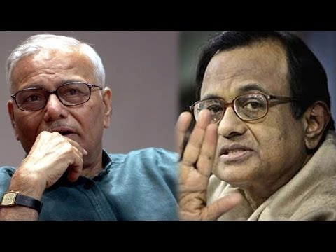 P Chidambaram's point-by-point rebuttal to Yashwant Sinha