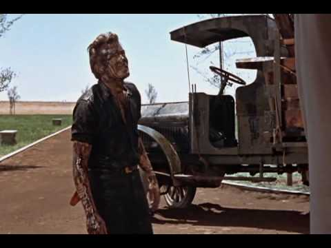 Giant (1956) - James Dean Strikes Oil