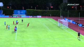 1 Football Laos vs Thailand  29 May   28th SEA Games Singapore 2015