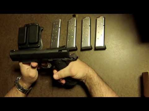 Sig Sauer 1911 TACOPS Review Part 1