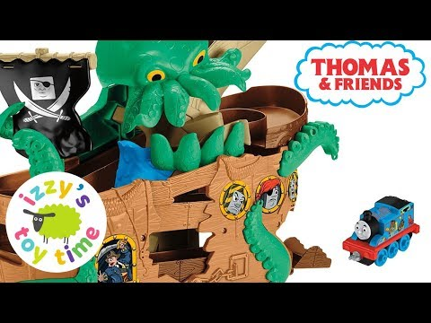 Thomas Adventures SEA MONSTER PIRATE SET! Thomas and Friends | Fun Toy Trains for Kids and Children