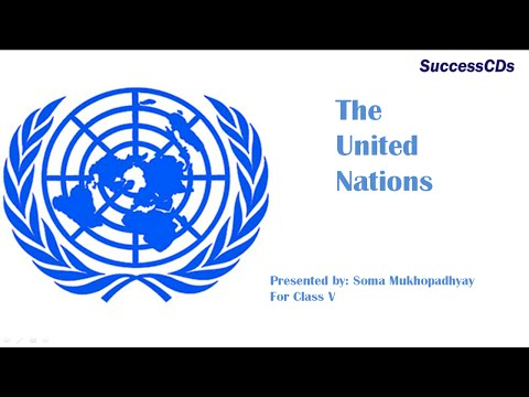 United Nations CBSE Class v Social Science Lesson
