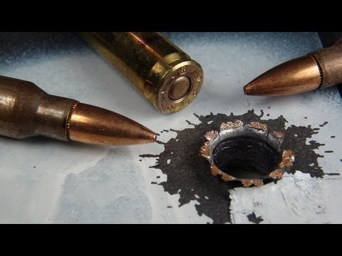 5.56mm FMJ 200 Yard Steel & Ballistic Gel Penetration