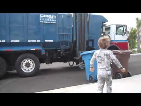 Garbage Truck Tristan and Zack