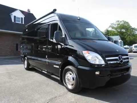 2012 Airstream Interstate 3500 Lounge 22' Black Mercedes-Benz Sprinter Diesel RV Motor Home Class B