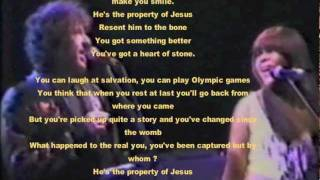 Watch Bob Dylan Property Of Jesus video