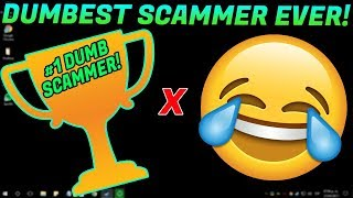 DELETING THE FILES OF THE DUMBEST SCAMMER ALIVE!