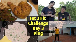 Full-Day Diet Plan For Weight Loss | 1650 Calories Low Carb Diet Food For Fat Loss | Day 3 Vlog !!!