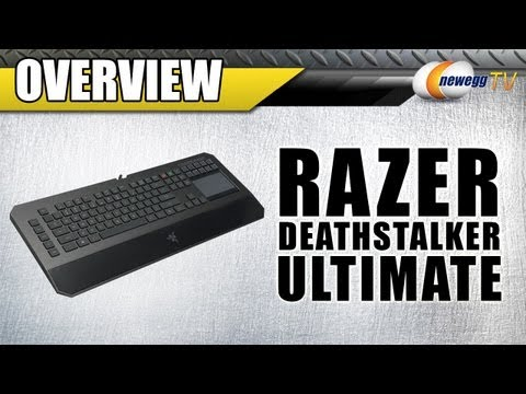 RAZER DeathStalker Ultimate USB Wired Gaming Elite Keyboard Overview - Newegg TV