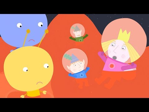 Ben and Holly's Little Kingdom | Jelly Flood in Space | 1Hour | HD Cartoons for Kids
