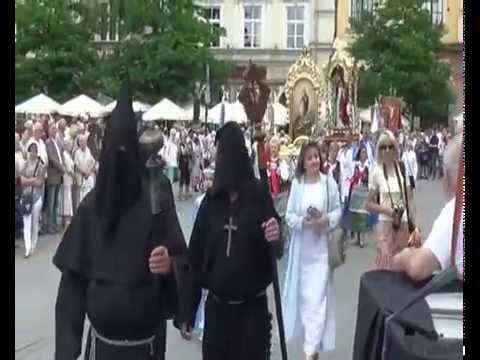 Procesja Bożego Ciała W Krakowie A. D.  2014