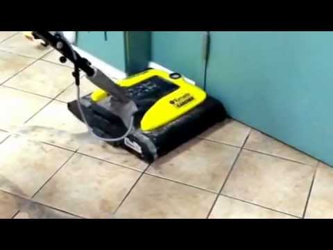 How To Clean Grout In Tile Floors Youtube