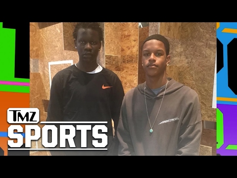 Shareef O'Neal & Bol Bol: Are UNSTOPPABLE On The Court | TMZ SPORTS