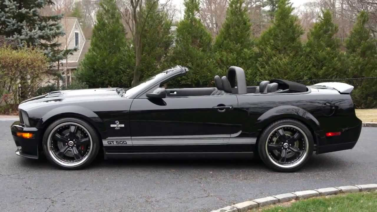 2007 Shelby 40th Anniversary Gt500 Super Snake Convertible