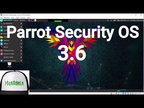 Parrot Security OS 3.6 (ParrotSec OS) Installation + Guest Additions on Oracle VirtualBox [2017]