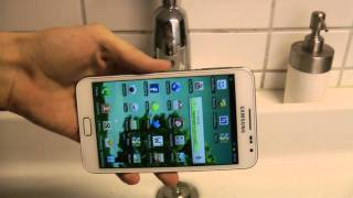 Samsung Galaxy Note Water Test?