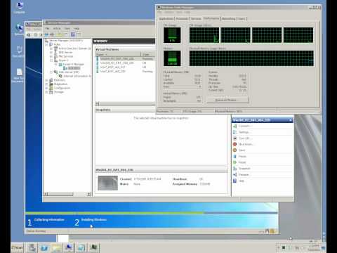 Microsoft Windows Server 2008 R2 Hyper-V - Operating System (VM) Installation and Configuration
