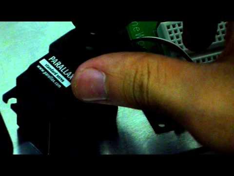 Basic Stamp-Servo turn to 0 degree