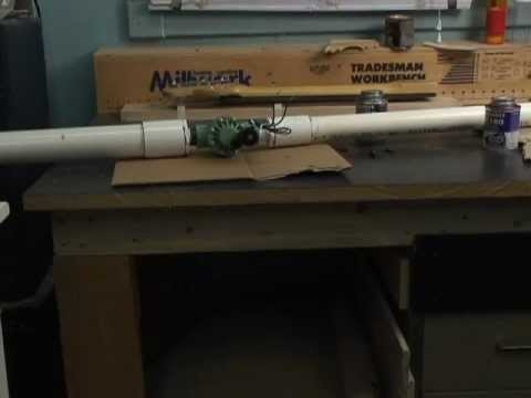 How to build a air cannon low cost
