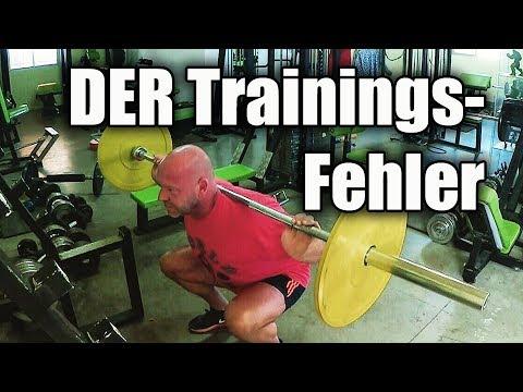 DER Trainingsfehler!