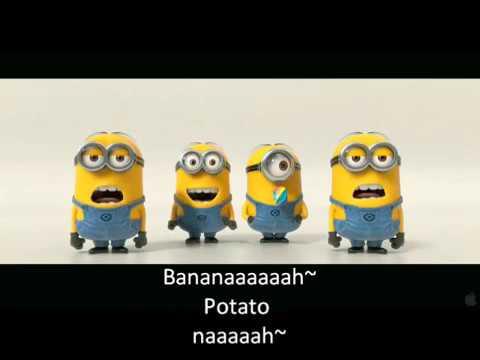 Minion menyanyi