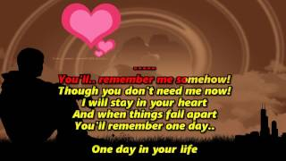 One Day In Your Life Karaoke Hd Michael Jackson