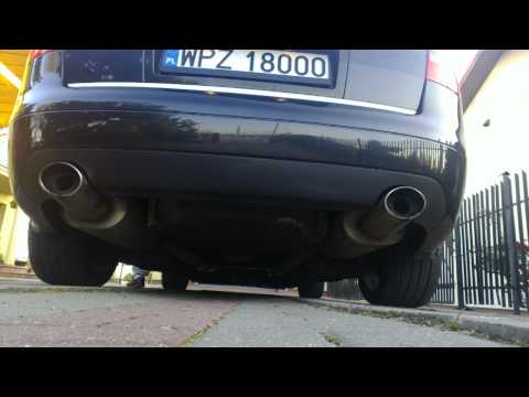 Audi S6/A6 C5 4.2 Quattro with FOX exhaust - xpipe + decat   FOR SALE