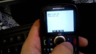 Como entrar em modo de teste - Motorola i475